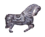 Figura del metal de un caballo Imagen de archivo libre de regalías