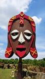 Figura del nativo africano Fotografia Stock