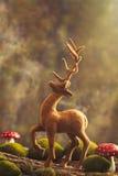 Figura dell'animale della renna Immagini Stock