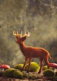 Figura dell'animale della renna Fotografie Stock
