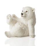 Figura dell'orso polare Fotografia Stock