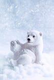 Figura dell'orso polare Immagini Stock
