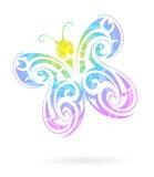Figura della farfalla Fotografia Stock