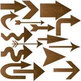 Figura della freccia Fotografia Stock