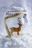 Figura della renna Immagini Stock