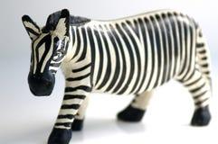 Figura della zebra Fotografia Stock Libera da Diritti