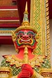 A figura demônio do guardião, terrifica imagem de stock royalty free
