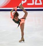 Figura desempenho da patinagem imagens de stock