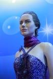 Figura di cera dei jolie di Angelina Fotografia Stock
