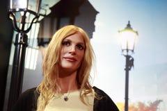 Figura di cera dell'attrice Julia roberts di hollywood Immagini Stock Libere da Diritti