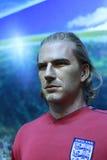 Figura di cera di Beckham Fotografie Stock Libere da Diritti