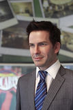 Figura di cera di Beckham Fotografia Stock