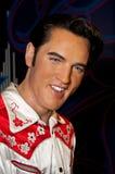Figura di cera di Elvis Presley Fotografie Stock