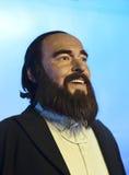 Figura di cera di Pavarotti Fotografia Stock Libera da Diritti