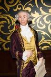 Figura di cera di Joseph Haydn, Vienna di signora Tussaud immagini stock