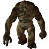 Figura di fantasia di Troll-3D Fotografia Stock