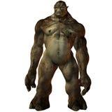 Figura di fantasia di Troll-3D Fotografie Stock Libere da Diritti