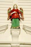 Figura di legno Fotografie Stock Libere da Diritti