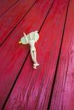 Figura di legno Fotografia Stock Libera da Diritti