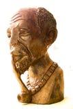 Figura di legno africana Fotografia Stock
