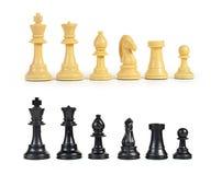 Figura di scacchi Fotografia Stock Libera da Diritti