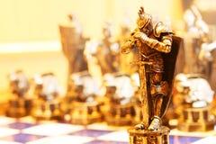 Figura di scacchi Fotografia Stock