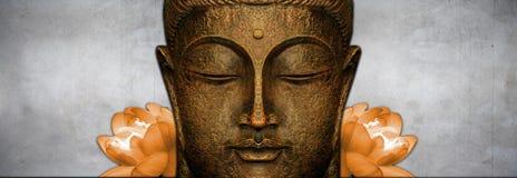 Figura di seduta del Buddha