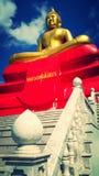 Figura di seduta del Buddha immagine stock libera da diritti