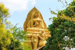 Figura di seduta del Buddha Immagine Stock