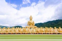 Figura di seduta del Buddha Immagini Stock Libere da Diritti