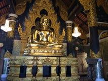 Figura di seduta del Buddha Fotografia Stock