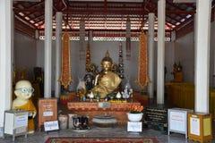Figura di seduta del Buddha Fotografie Stock Libere da Diritti