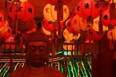 Figura di seduta del Buddha Fotografie Stock