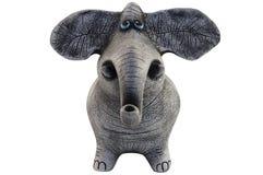 Figura di un elefante Fotografia Stock Libera da Diritti
