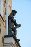 A figura do arquiteto J B Quadro poznan Fotografia de Stock