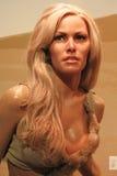 Figura do modelo de cera de Raquel Welch Imagem de Stock