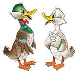 figura do pato ilustração royalty free
