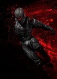 figura do super-herói 3d ilustração stock