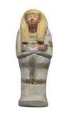 Figura egipcia antigua del entierro aislada Imagen de archivo