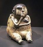 Figura en el Louvre Abu Dhabi Fotografía de archivo