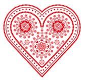 Figura en forma de corazón Fotografía de archivo libre de regalías