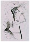 Figura erótica surrealista Foto de archivo libre de regalías
