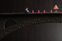 Figura escena modelo Imágenes de archivo libres de regalías