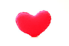 Figura fatta a mano del cuore Immagini Stock