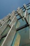 Figura futuristica di architettura Immagine Stock Libera da Diritti