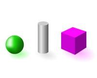 Figura geométrica stock de ilustración