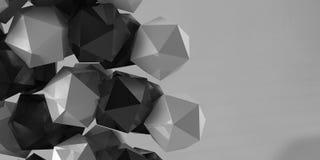 Figura geometrica immagine di 3d Immagine Stock
