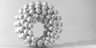 Figura geometrica immagine di 3d Fotografia Stock