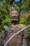 Figura giapponese del guerriero Fotografia Stock