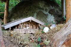 Figura im Pinzgau, Austria di favola Immagine Stock Libera da Diritti